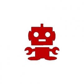 veloursmotief robotje