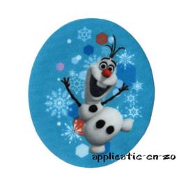 kniestukken Olaf van Frozen (2st)(opstrijkbaar)