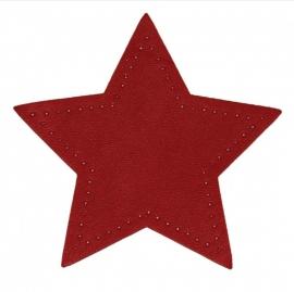 kniestukken ster rood (2 stuks) opstrijkbaar