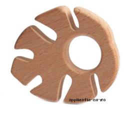 Bijtring blad hout