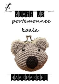 WHAZZ UP haakpakket portemonnee koala