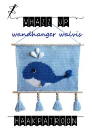 WHAZZ UP haakpatroon wandhanger walvis (PDF)