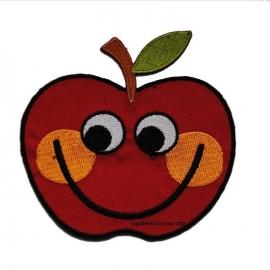 kniestuk lachend appeltje (opstrijkbaar)