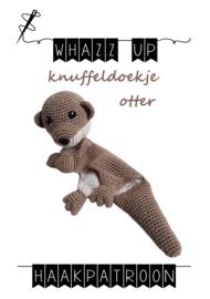 WHAZZ UP haakpatroon knuffeldoekje otter (PDF)