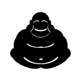 veloursmotief Boeddha