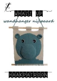 WHAZZ UP haakpatroon wandhanger nijlpaard (PDF)