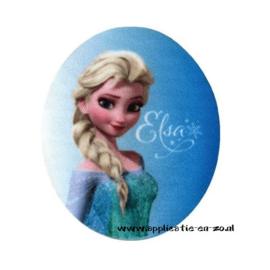 kniestukken Elsa van Frozen (2st)(opstrijkbaar)