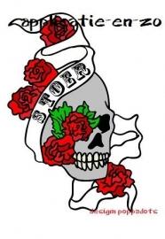 SUPER full color aplicatie tattoo STOER