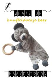 WHAZZ UP haakpatroon knuffeldoekje beer (PDF)