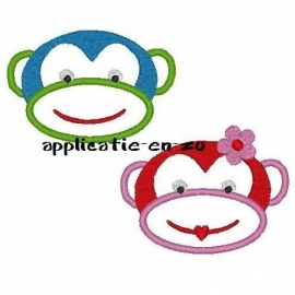 serie aapjes (sock monkeys)