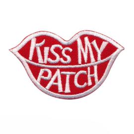 strijkapplicatie 'kiss my patch'