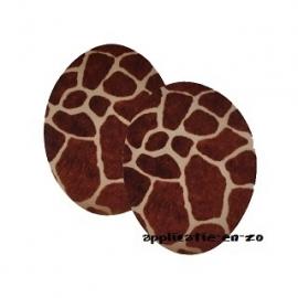 kniestukken giraffe (2st) opstrijkbaar
