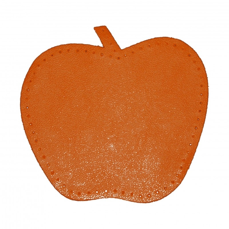 kniestukken appel oranje (2 stuks)