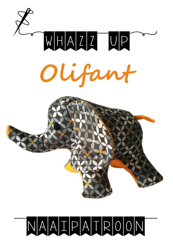 WHAZZ-UP naaipatroon olifant