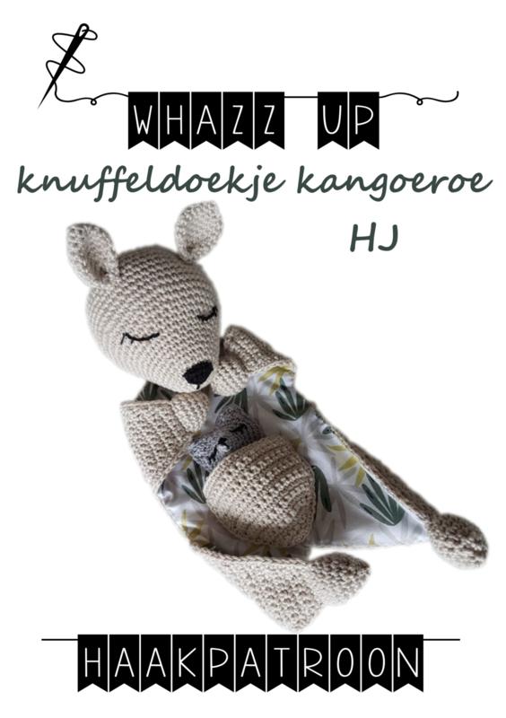 Haakpakket knuffeldoekje kangoeroe HJ