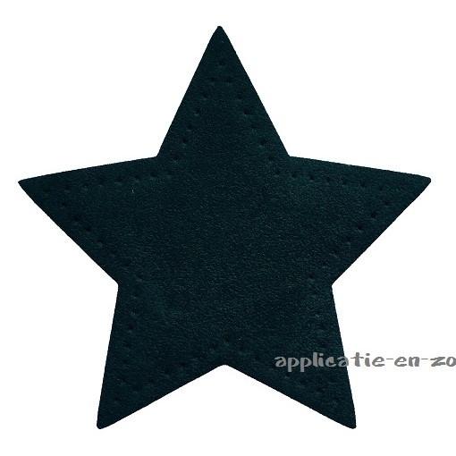 kniestukken ster donker groen (2 stuks) opstrijkbaar