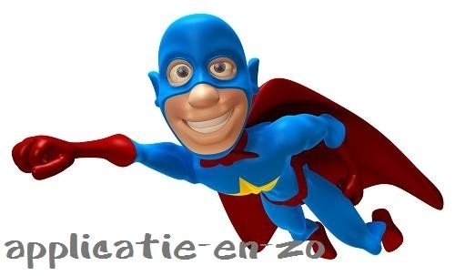 SUPER full color applicatie Superman