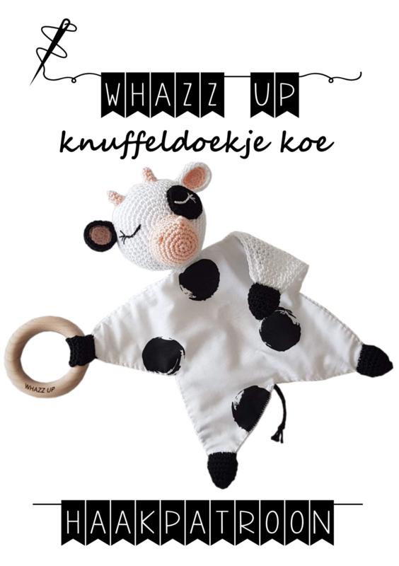 WHAZZ UP haakpatroon knuffeldoekje koe