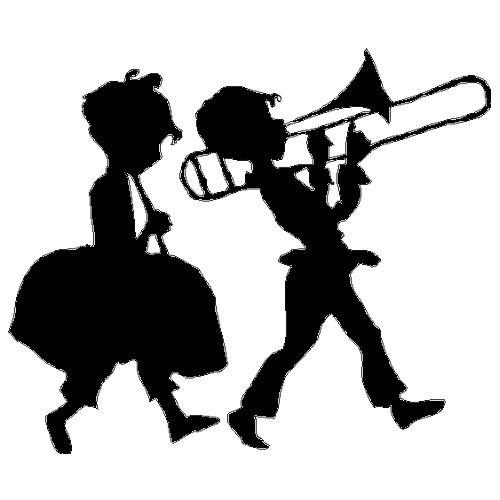 veloursmotief muziekaal duo