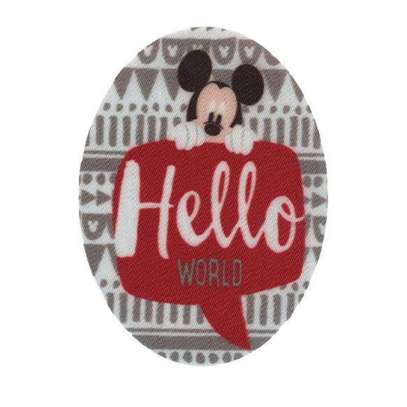 kniestukken Mickey Mouse (2st) opstrijkbaar
