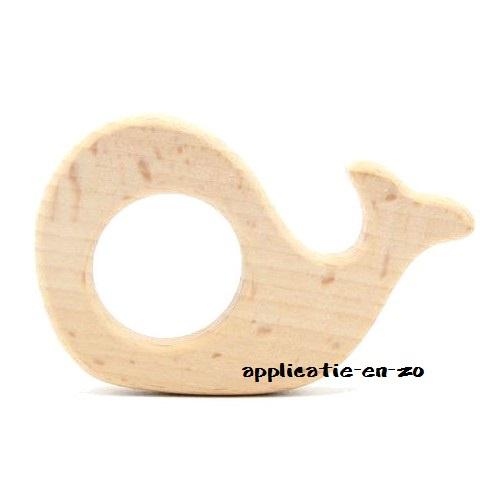 Bijtring walvis hout