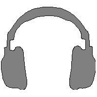 veloursmotief koptelefoon