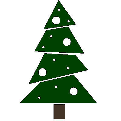 veloursmotief kerstboom