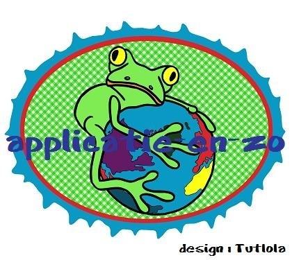 SUPER full color applicatie kikker