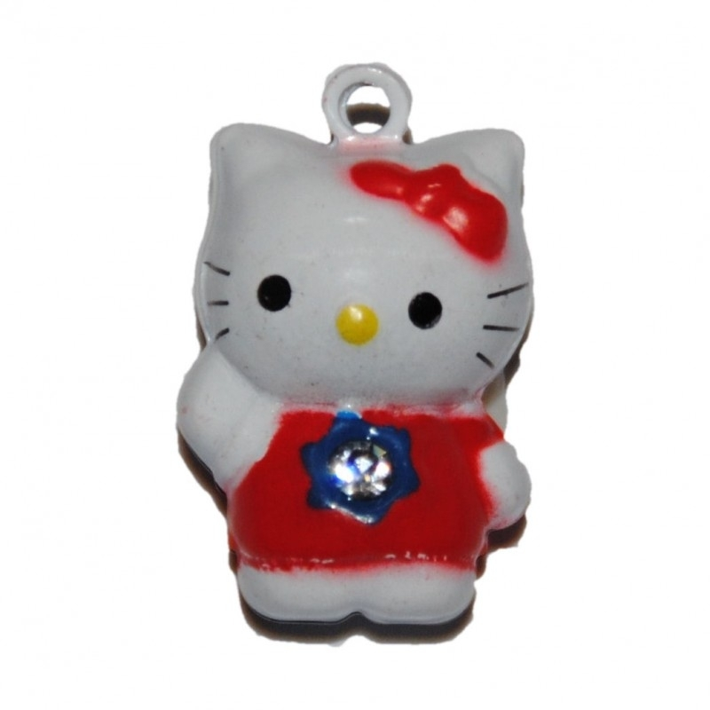 belletje Hello Kitty rood