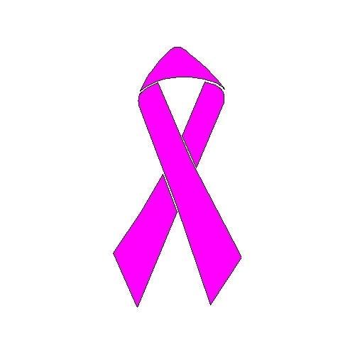veloursmotief pink ribbon
