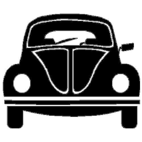 veloursmotief VW Kever
