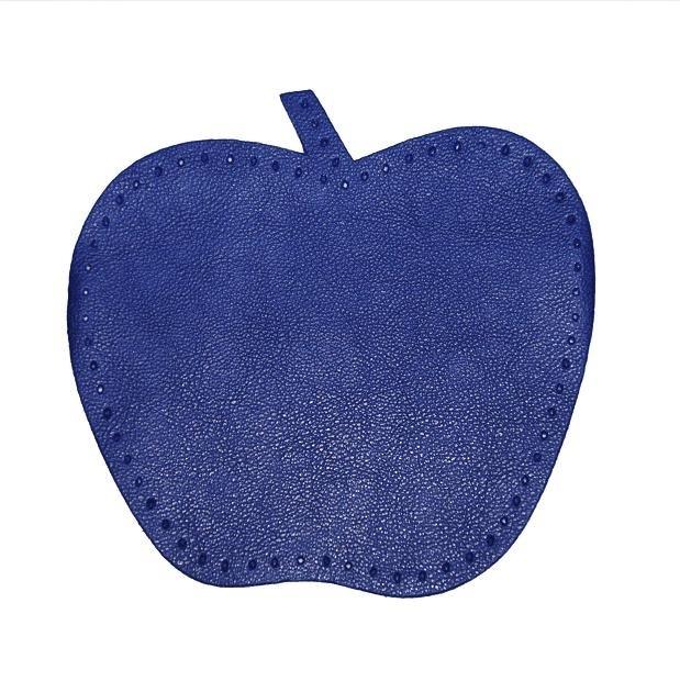 kniestukken appel donker blauw (2 stuks)