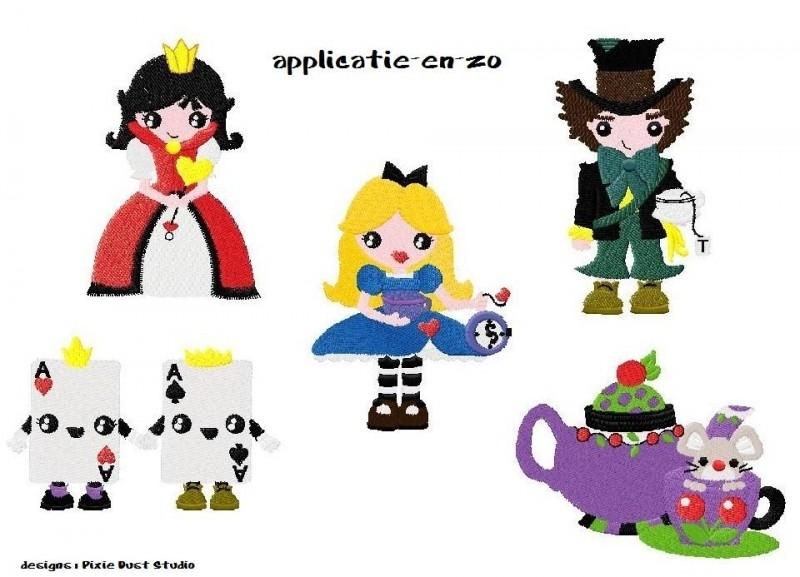serie Alice in Wonderland