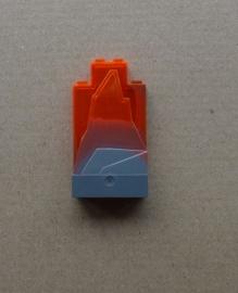Rotsdeel grijs/oranje (47847pb002)