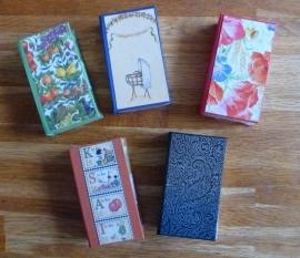 Zakdoekboekje handgemaakt