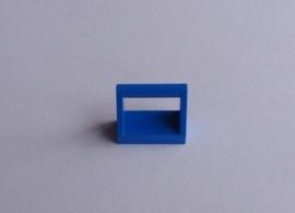 Tegel met hendel blauw (2432)