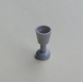Wijnglas blauwachtig lichtgrijs (2343)