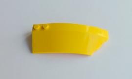 Wig 8x3x2 rechts geel (41749)