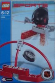 Lego setje Rode speler en doel (3558)