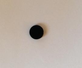 Ronde tegel 2x2 zwart (4150)