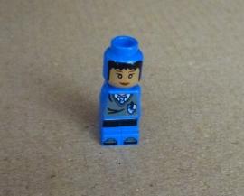Microfig Ravenklauw Speler blauw