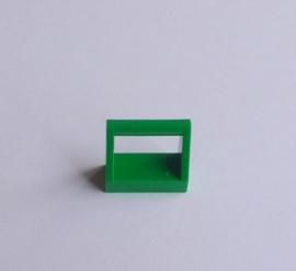 Tegel met hendel groen (2432)