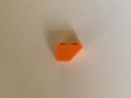 Omgekeerde helling 1x2 oranje (3665)