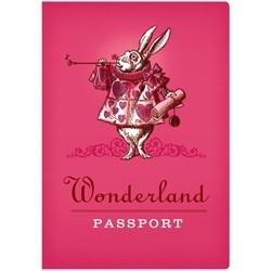 Paspoort notitieboekje Wonderland