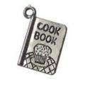 Charm boekenlegger met kookboek bedeltje