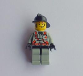Brandweer in grijs pak (fire008)