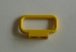 Afgerond hekje/bar geel (6187)