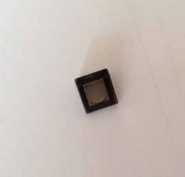 Mini helling transparant zwart (54200)