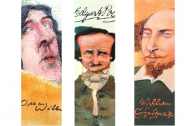 Literary Luminaries boekenlegger Schrijvers