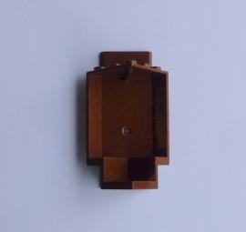 Muurdeel hoek bruin (2345)